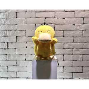 日货寶可夢神奇寶貝 大玩偶景品 -可達鴨 (微笑瞇瞇眼)細緻絨毛版