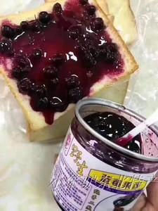 蓝莓果酱大兴安岭野生蓝莓手工熬制无糖无添加300克罐装包邮