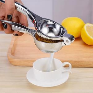 简易柠檬夹不绣钢压汁器手动榨汁机家用拧檬神器水果宝宝学生生