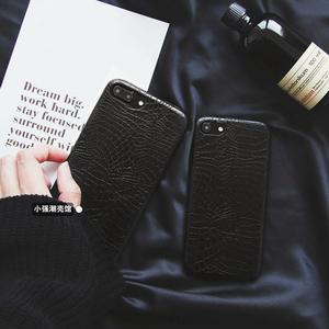 黑色苹果5s手机壳女图片