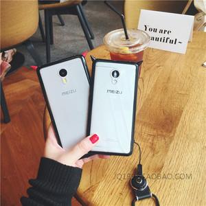魅族pro5手机壳透明硅胶图片