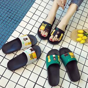 拖鞋女夏天浴室内防滑软底家居家用夏季洗澡情侣可爱男女士凉拖鞋