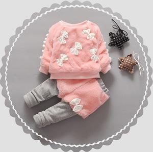 四5五6六7七八九10十13個月女寶寶秋冬裝套裝1-2歲幼兒3衣服0洋氣