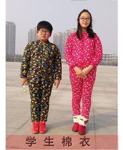 小孩手工棉花棉衣棉裤