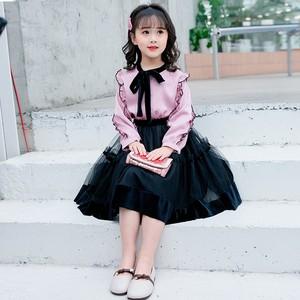 巴拉巴拉唯品会A21儿童装女孩的群子6一7-8岁女童连衣裙春装十大