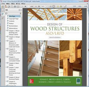 Design of Wood Structures-ASD LRFD 7th Edition