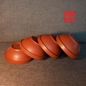 紫砂碗蒸菜碗小容量碗农家蒸碗家用土钵蒸米?#36141;?#38518;钵头土陶碗饭碗