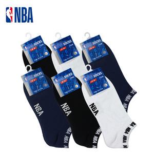NBA春夏篮球袜子男女夏薄棉浅口隐形运动休闲船袜低帮吸湿透气
