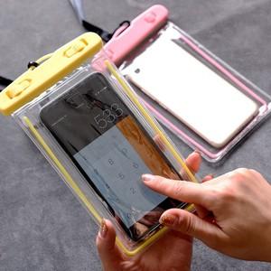 水下拍照手机防水袋温泉游泳手机通用iphone7plus触屏包6s潜水套