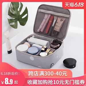洗漱包網紅化妝包ins風超火品少女心小號便攜大容量旅行收納袋盒