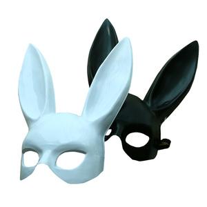 兔子头面具
