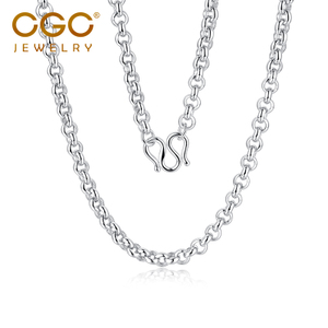 CGC中銀金行珠寶首飾鉑金項鏈PT950鉑金項鏈白金項鏈O字項鏈男鏈