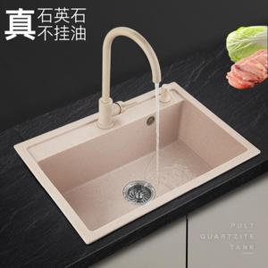 酒店抽拉式洗碗槽单槽幼儿园水池厨房水槽一体。新品套餐防霉方槽