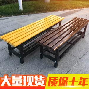 實木長條凳浴室更衣室長凳換鞋凳戶外長條椅防腐木健身房休息長凳