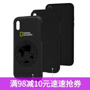 ?#36824;鹸smax防摔手机壳 国家地理日本正版iPhone X保护套xs双层新款