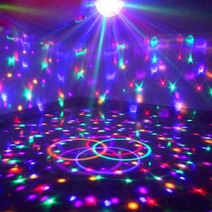 KTV酒吧彩灯闪灯串灯声控旋转变色卧室浪漫房间直播生日布置装饰