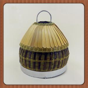 包邮纯手工制作鹧鸪笼竹鸡笼 永不生锈塑丝精编竹鸡笼鹧鸪笼鸟笼