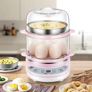 小熊蒸蛋器自動斷電家用煮蛋器可預約定時雙層燉蛋蒸雞蛋羹機神器