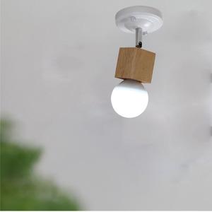 卧室过道床头壁灯北欧简约阁楼储物间楼梯间吸顶灯螺口灯座墙壁灯