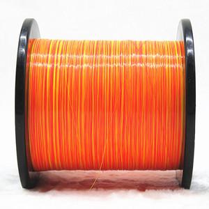 台湾虾之霸 彩虹双色钓虾线 超耐磨柔软尼龙线 子母通用道系子线