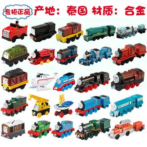 正版托馬斯合金小火車頭掛鉤玩具車胖總管凱文萊克茜詹姆斯稀有款