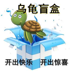 龜歸來盲拍烏龜盲盒烏龜活物剃刀麝香頭盔西非蛋龜地圖火焰東西錦