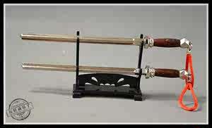 1:6古代兵器武器模型 秦琼秦叔宝四楞双锏四方锏四棱锏 兵人配件