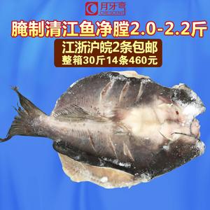 冰冻清江鱼净膛2.0-2.2斤烤鱼店食材腌制鮰鱼江团鱼