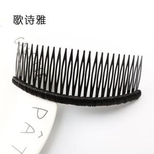 长发卡夹发饰女士夹头饰发插头发发梳子插梳发夹梳刘海倒插梳发叉