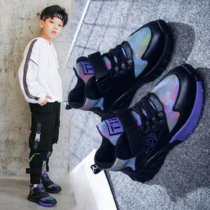男童鞋子2019秋冬款新款大棉鞋潮小男孩运动鞋冬季加绒二棉儿童鞋