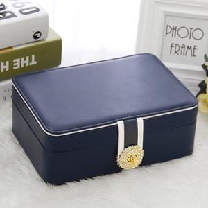 大容量公主歐式韓國首飾收納盒首飾盒子手飾品耳飾耳環耳釘盒帶鎖