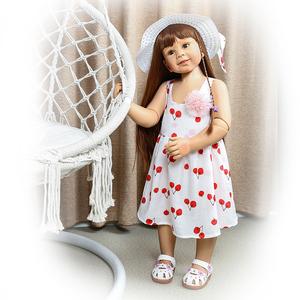 87厘米超大童2岁女宝宝服装模特 全胶关节娃娃 可站可坐 仿真娃娃
