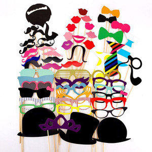 趣味婚礼迎宾搞怪胡子聚会party派对帽子造型 拍照小道具生日装饰