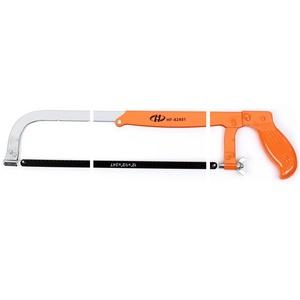 HF-8290112 调节式钢锯架12寸 活动弓锯架手工锯 带锯条