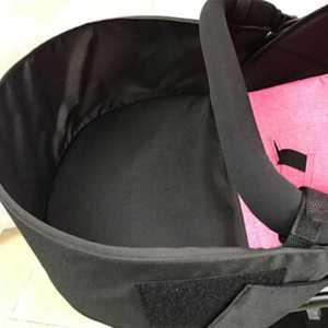 婴儿推车通用脚拖宝宝全阶段0-3岁婴儿车加长脚拖 通用型脚拖黑色