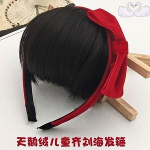 日韩3-8岁宝宝假刘海小女孩发箍头箍女童头饰发饰儿童发带发卡