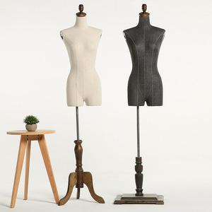 时尚高端服装模特道具女半身模特衣服模特架人体橱窗模特架拍照
