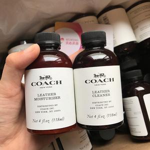 北京现货 美国采购 COACH蔻驰皮具清洁液清洁剂 皮革保养液护理剂