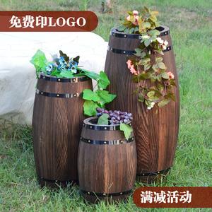 酒桶木桶橡木桶装饰实木制红酒桶啤酒桶酒庄婚庆装饰摆件包邮