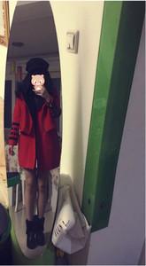 女神的新衣NaNa同款毛呢大衣
