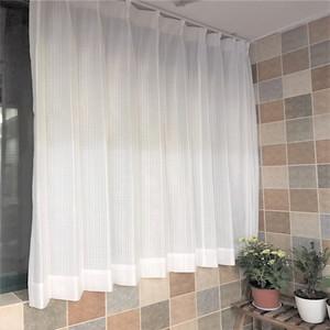 出口日本窗帘隔热窗纱遮阳防紫外线飘窗窗纱单向透视?;ひ?/>                             </a>                             <div class=