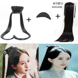 新款三生三世十里桃花古装造型假发杨幂白浅素素同款发髻发包发饰