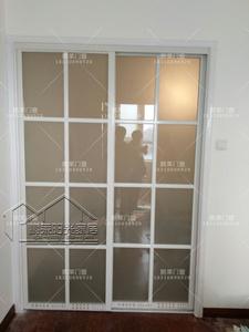 鋁鎂钛合金別墅廚房移門推拉門書房陽台客廳衛生間衣櫃門及隔斷門