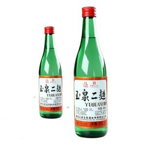 玉泉酒 42度大高粱酒玉泉二曲粮食酒 玉泉方瓶东北特产酒六瓶包邮
