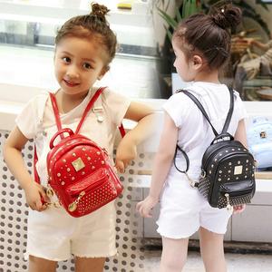 儿童背包双肩斜挎包包公主时尚1-3岁6小女孩宝宝可爱迷你2019新款