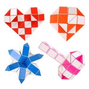 异形魔方儿童创意玩具百变魔尺男孩益智玩具魔板魔棍24段36段48段