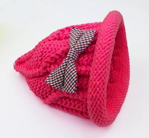 奶嘴帽编织材料包用线 宝宝帽子围巾线粗毛线 小满编织小屋送教程