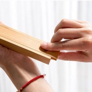 竹制便携式旅行盒餐具木盒子单双学生礼品筷木制套装个筷子
