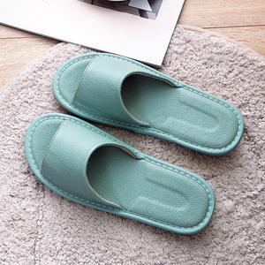 真皮凉拖鞋夏季日式情侣居家室内地板防滑皮拖鞋女男防臭家居拖鞋
