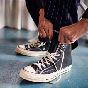 正品匡威1970s经典款帆布鞋黑色高低帮男鞋女鞋162050c 162058c